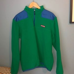 Vineyard Vines Fleece Shep Shirt